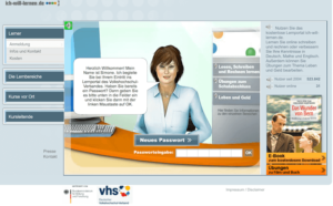 Ich-will-lernen.de - Sprachkurs-Angebot der Volkshochschule - VHS - kostenloser Sprachkurs im Internet
