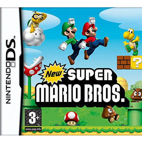 New Super Mario Brothers - Nintendo DS Spiel für Senioren und Rentner
