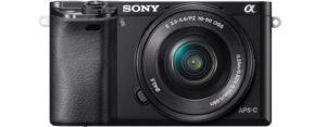 Seniorengerechte Digitalkamera - Sony Alpha 6000 Systemkamera - Systemkamera für Senioren