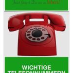 Telefonbuch-Planer fuer Rentner und Senioren
