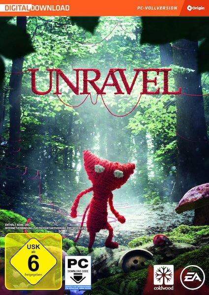 Unravel - Wollkneulspiel - Ein roter Wollkneul erobert die Welt - Geschicklichkeitsspiel für Senioren