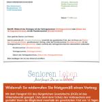 Widerspruch - Musterschreiben - Widerspruch-Schreiben als PDF und Word-Dokument kostenlose Vorlage