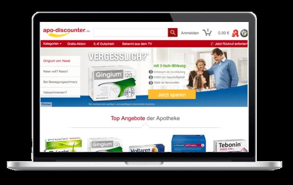Apo-Discounter.de - VersandApotheke