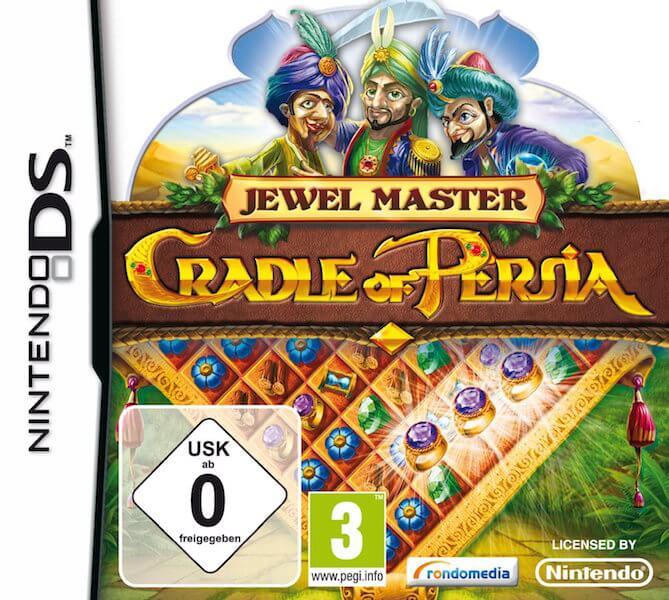 Cradle of Persia - Nintendo DS Spiel für Senioren und Rentner