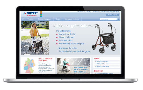 Dietz GmbH - Reha Produkte