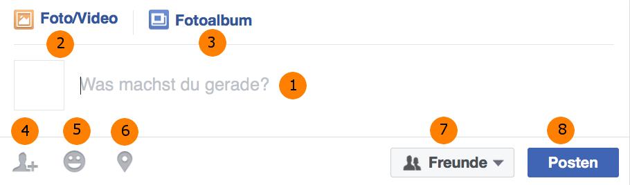 Facebook Beitrag erstellen