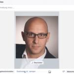 Facebook Profilbild hochladen - Bildausschnitt wählen