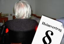 Heimvertrag - Altenheim Altersheim Pflegeheim Seniorenheim - Kündigung und Kündigungsfrist- Leistungen und Kosten - Rechte und Pflichten