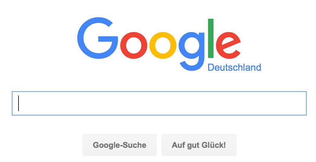 Informationen suchen und finden mit Google - Google Suchanfrage