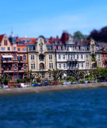 Konstanz Uferpromenade am Bodensee