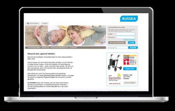 Russka - Ludwig Bertram GmbH - Pflege - Reha und Rollatoren