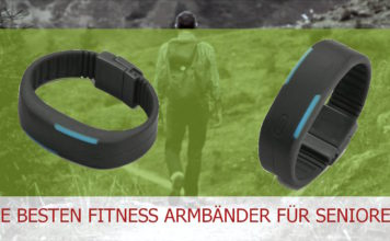 Senioren Fitness Armband - Wandern Spaziergang Joggen Nordic-Walking oder mit dem Rollator