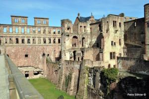 Senioren Rentner Ausflug Reisen - Schlossruine Heidelberger Schloss