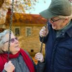 Senioren Rentner Zweisamkeit - sich jung fühlen -