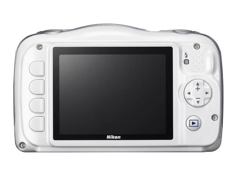 Seniorengerechte Digitalkamera - Nikon Coolpix S33 - Display - Rückseite - Digitalkamera für Senioren