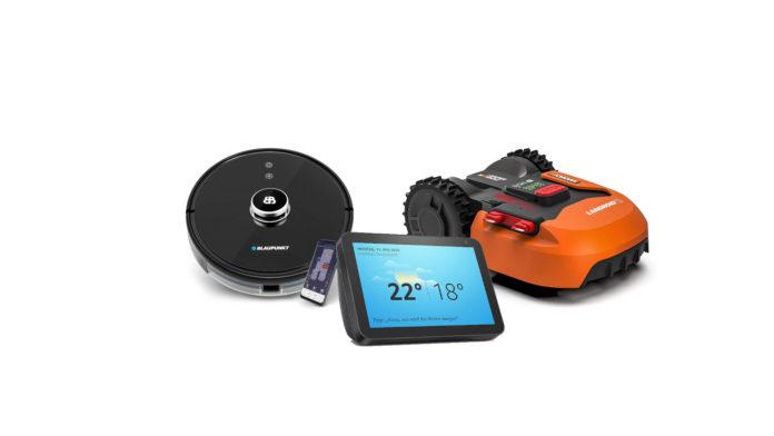 Smart-Home Saugroboter Mähroboter für ältere Menschen Senioren und Rentner - Helferlein für den Haushalt