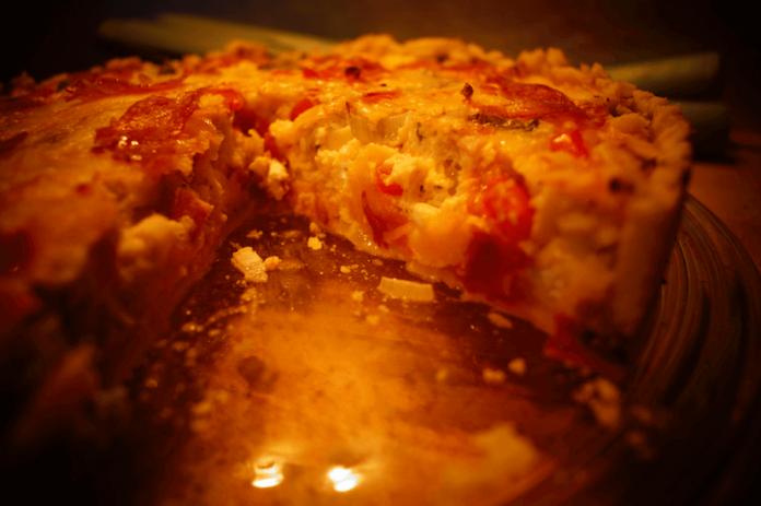 Spargel-Quiche - Zutaten-Zubereitung Rezept