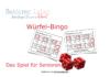 Würfel-Bingo - Würfelbingo das Bingo-Spiel für Senioren zu Hause und im Seniorenheim