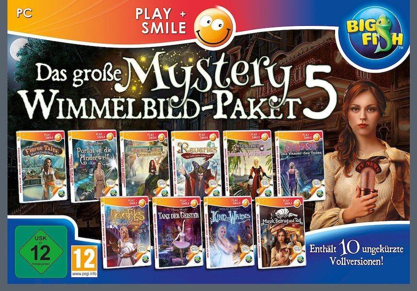 Wimmelbild-Paket 5 - PC Spiel für Senioren und Rentner
