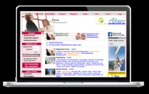 ahano.de - Senioren - Portal ür Senioren und alle ab 55